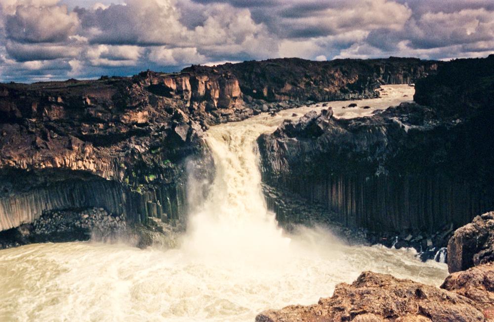 Aldeyjarfoss, Wasserfall, Island