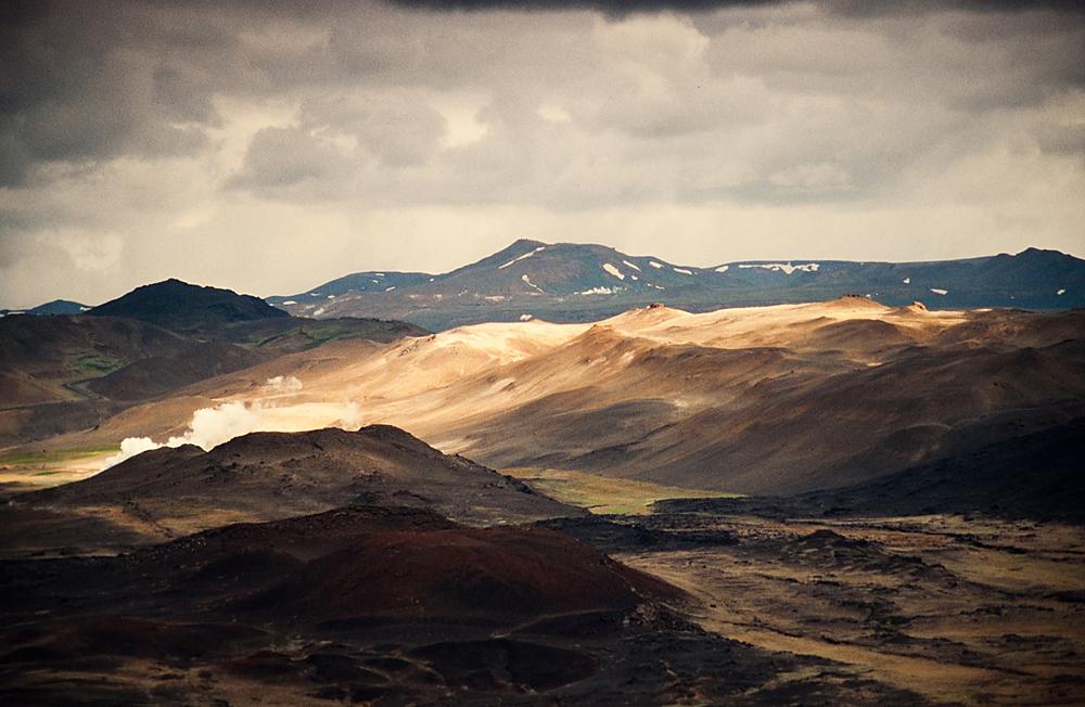 Hverfell, Ausblick, Island