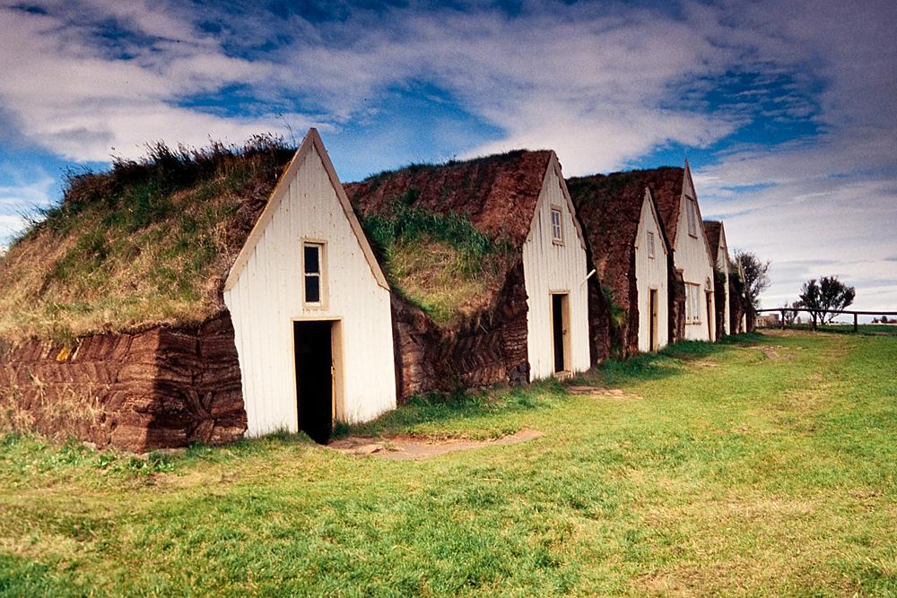 Glaumbær, Museumshof, Island