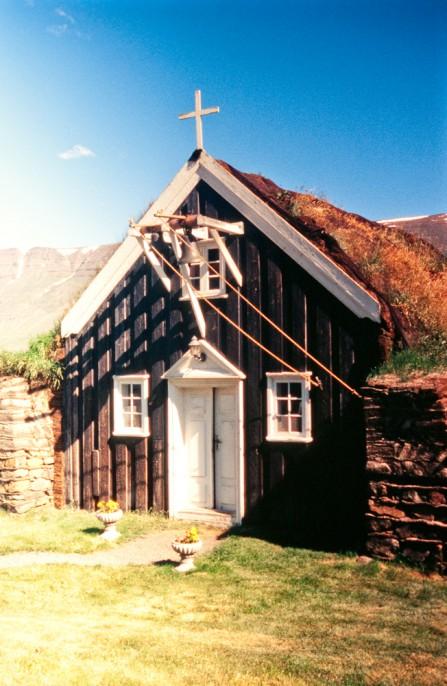Saurbæjarkirkja, Saurbær, Kirche, Island