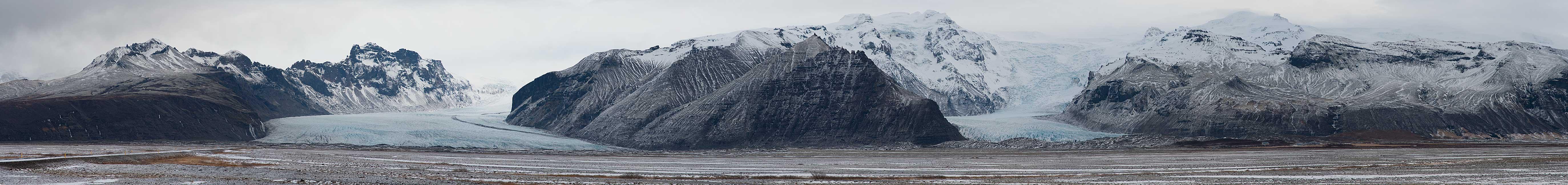 Skaftafellsjökull Svínafellsjökull