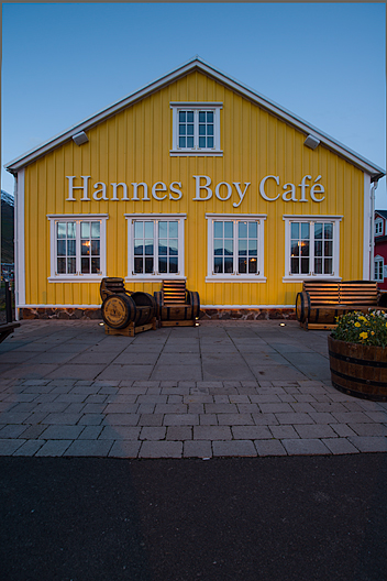Siglufjörður Siglufjördur Hannes Boy Cafe Iceland