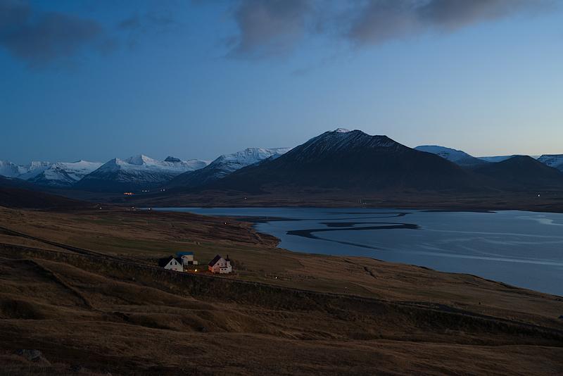 Miklavatn, Hraun, Island