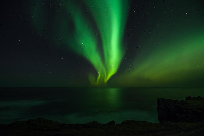 Krossnes Polarlicht