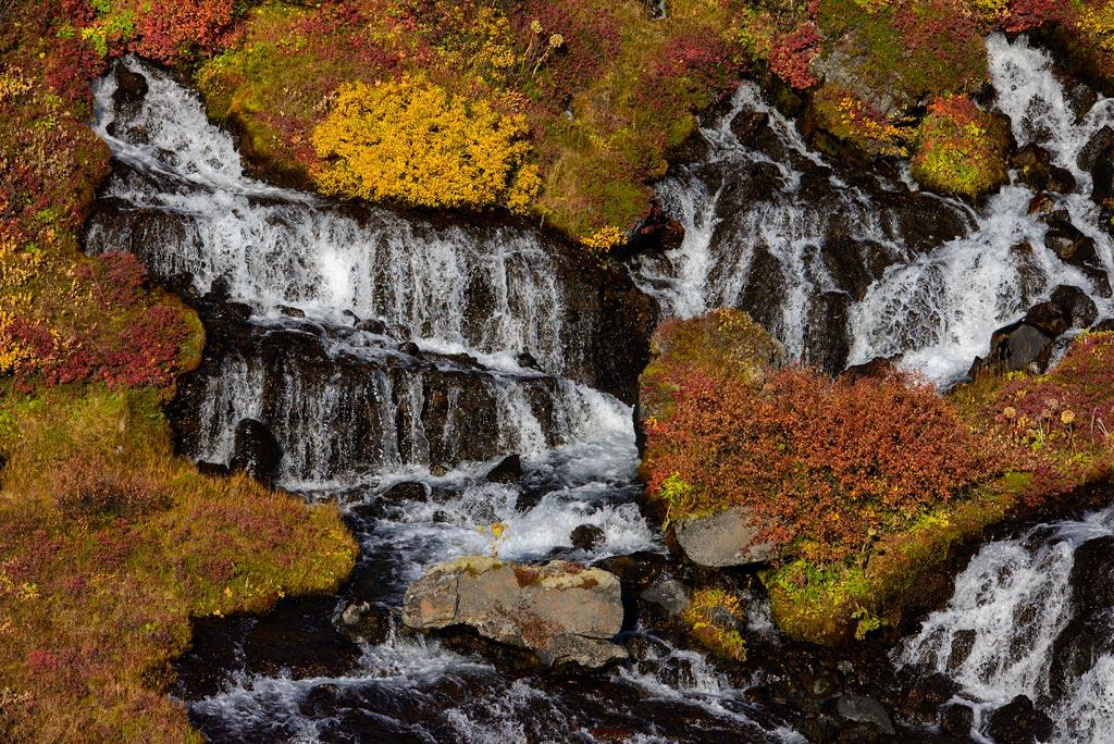 Hraunfossar Wasserfälle Iceland