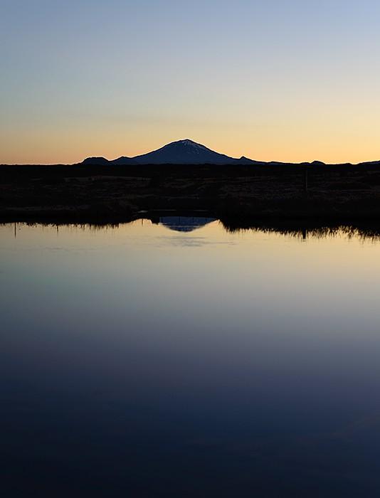 Hekla Vulkan Sonnenaufgang