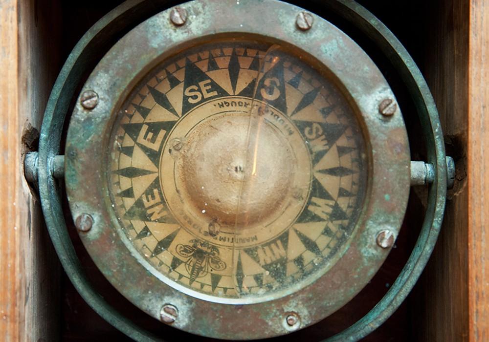 Akranes Heimatmuseum Kompass