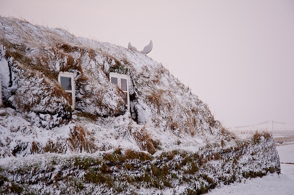 Glaumbær Museumshof Winter
