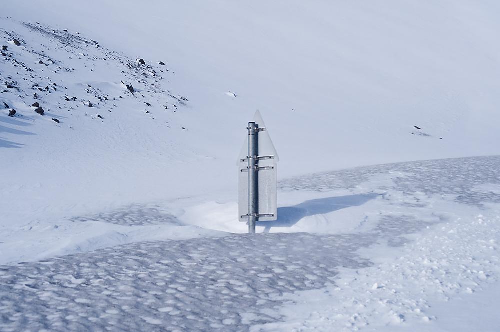 Hrafnseyrarheiði Winter