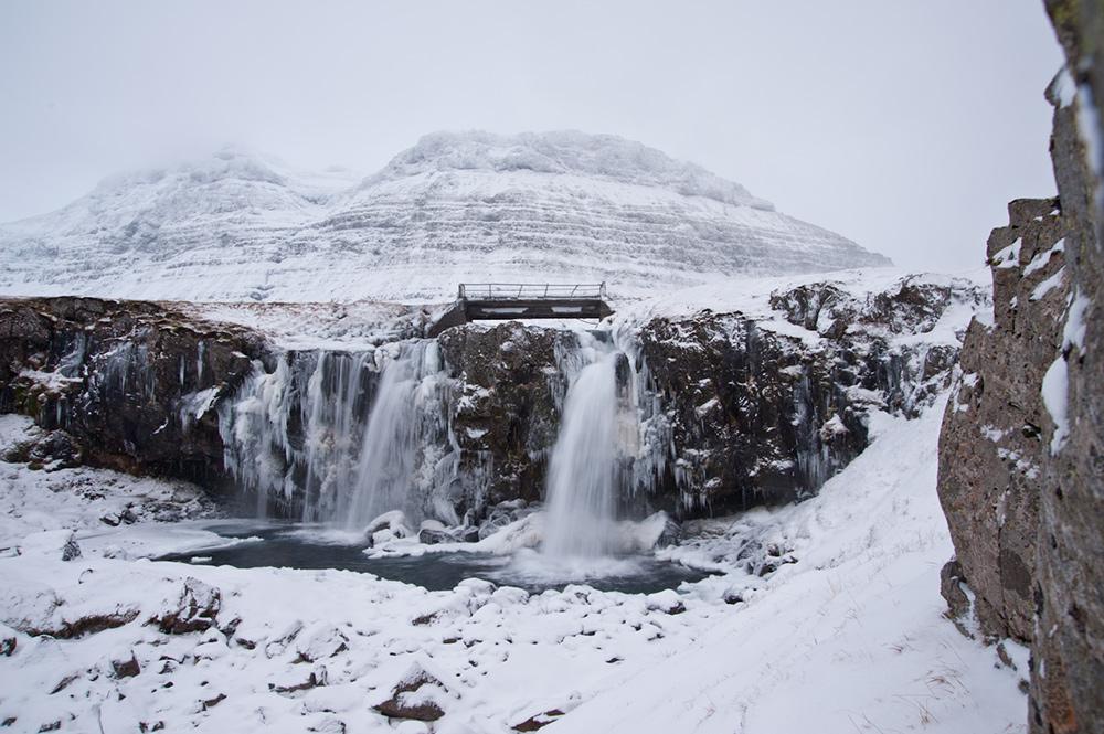 Kirkjufellsfoss Snæfellsnes