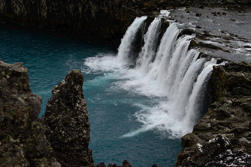 Wasserfall Thjofafoss in Island