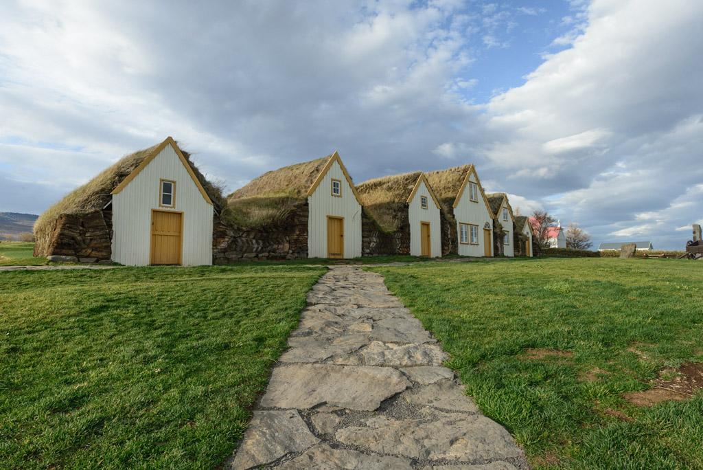 Glaumbær Museumshof Island