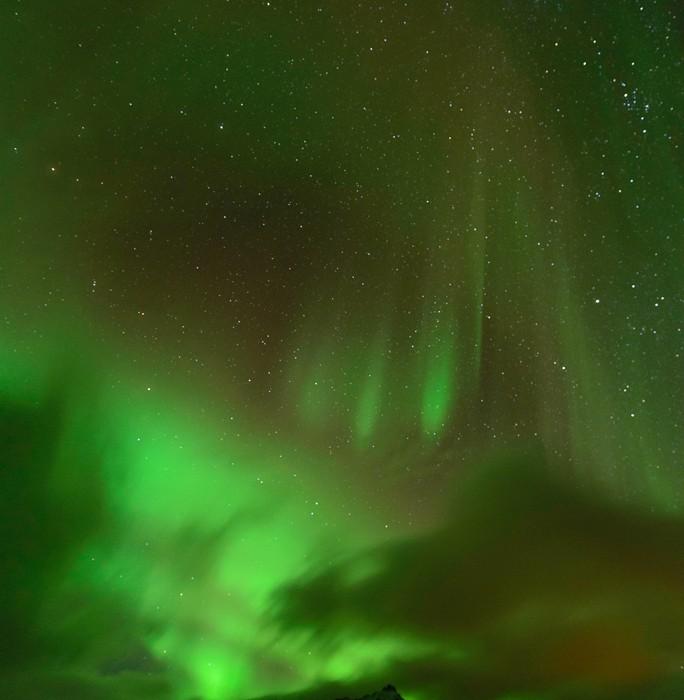 Polarlicht Laugarbrekka Snæfellsnes