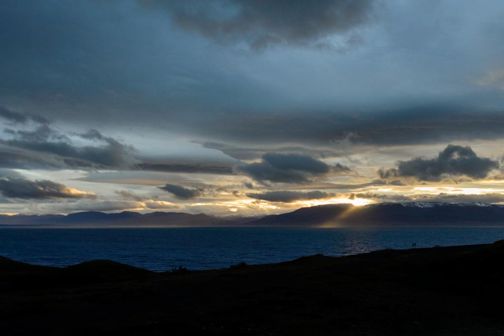 Skagafjörður Sonnenuntergang