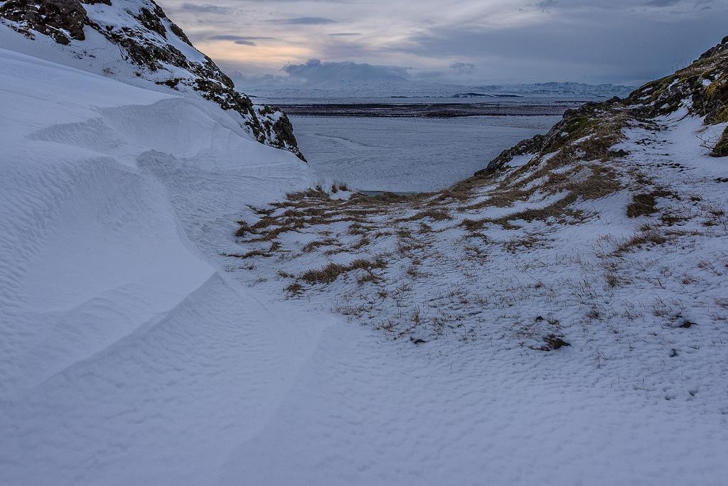Hekla Thjorsa Þjórsá Winter Snow