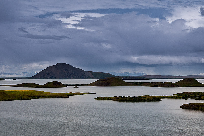 Myvatn Vindbelgjarfjall Mývatn