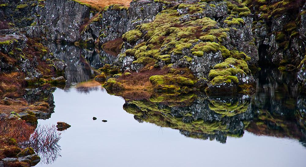 Thingvellir Þingvellir Silfraspalte